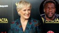 Glenn Close Kevin Hart Deserves Second Chance to Host Oscars