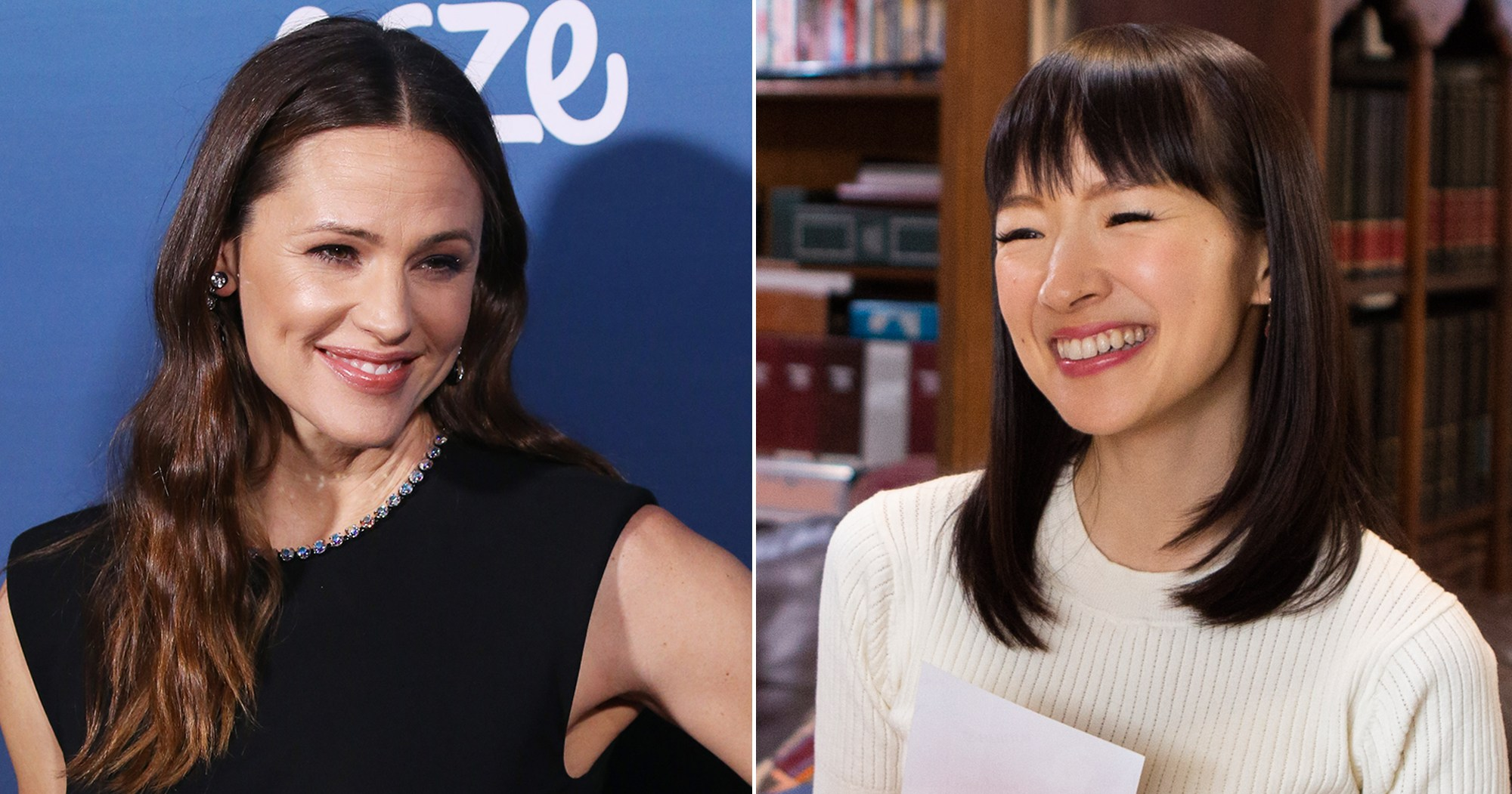Jennifer Garner Takes a Cue From Marie Kondo and Hilariously Tidies Up Her Junk Drawer