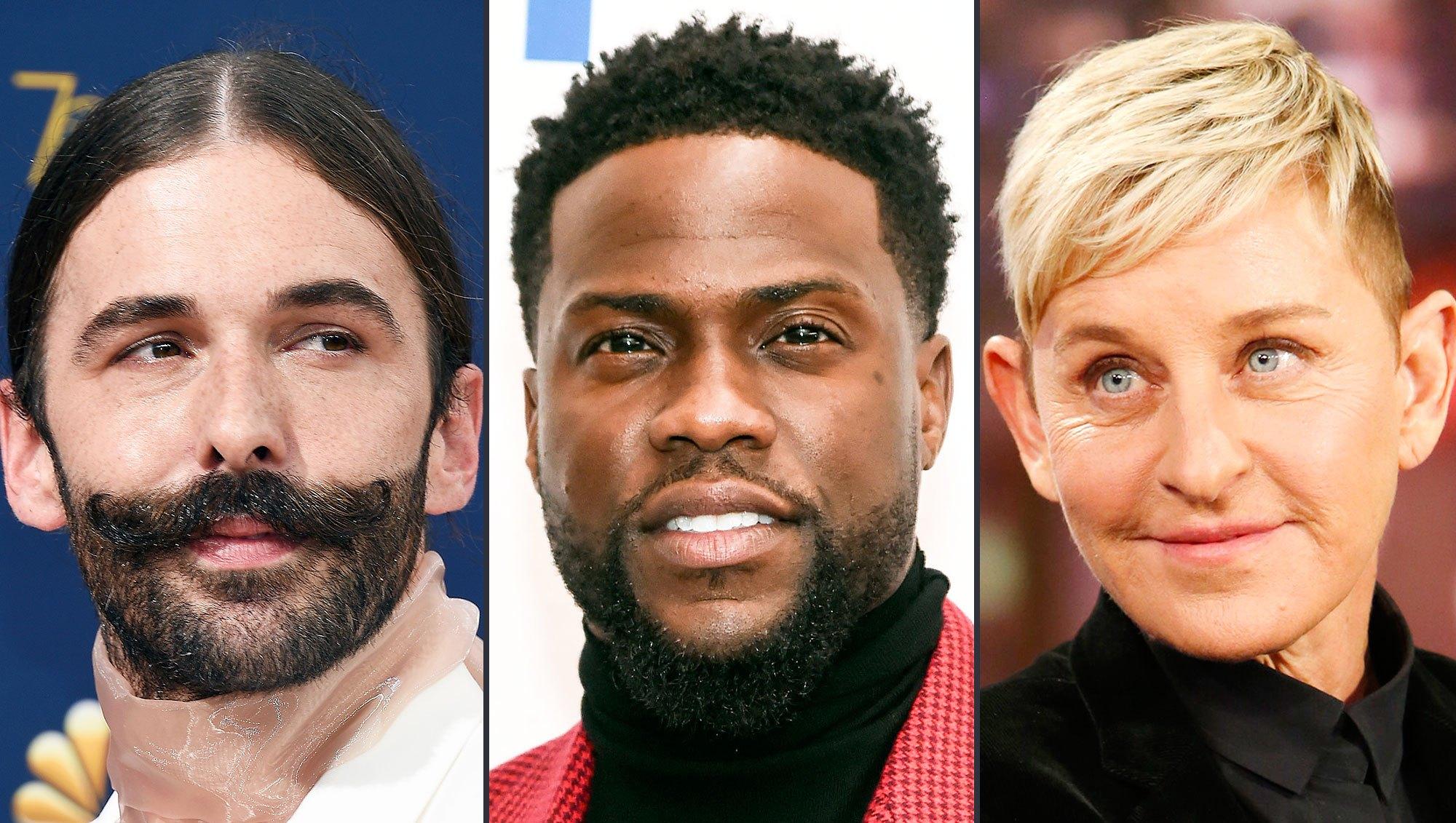 Jonathan Van Ness Slams Ellen DeGeneres Homophobic Kevin Hart