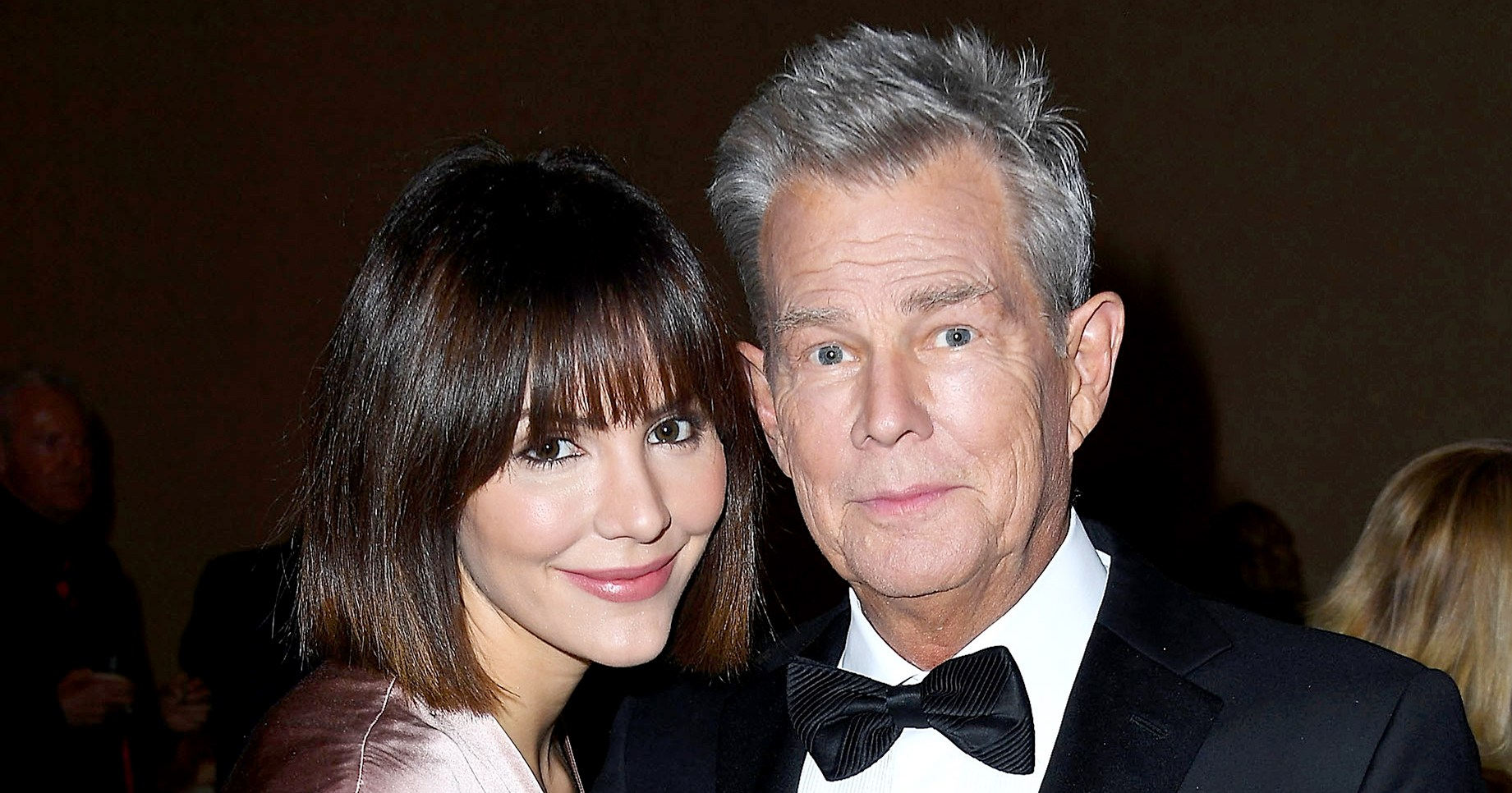 Katharine McPhee Hilariously Claps Back at Troll Who Calls Fiance David Foster 'Her Geriatric Love'