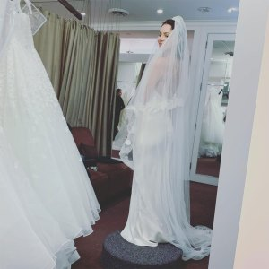 Katharine McPhee Shares Inside Look From Her Wedding Dress Fitting