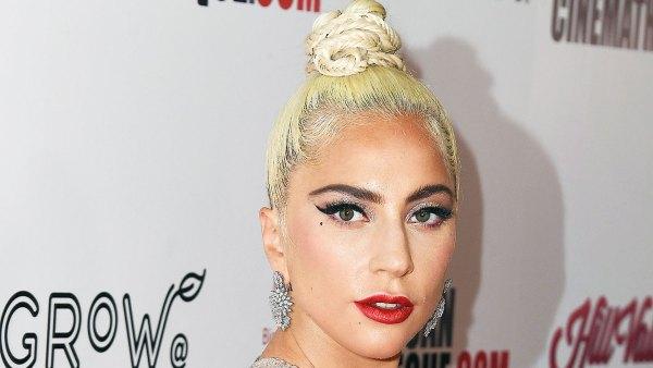 Lady Gaga Blonde Before Blue Hair Golden Globes 2019