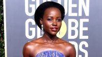 Lupita Nyong'o attends the 76th Annual Golden Globe Awards