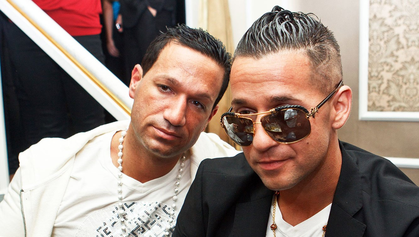 Mike 'The Situation' Sorrentino and his brother Marc Sorrentino