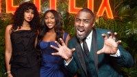 Golden Globes 2019 Afterparties Sabrina Dhowre Isan Elba Idris Elba