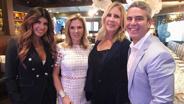Andy Cohen Celebrates Baby Shower With All The Housewives Photos