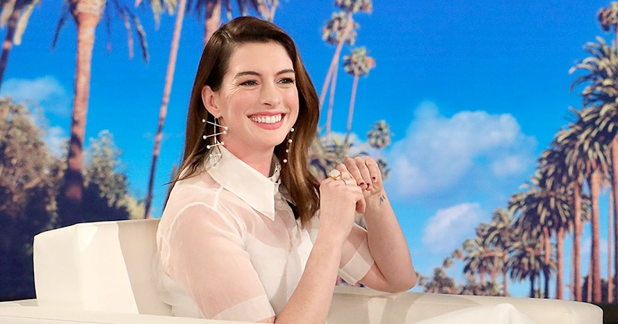 Anne Hathaway Vows to Not Drink for 18 Years for Her Son's Sake