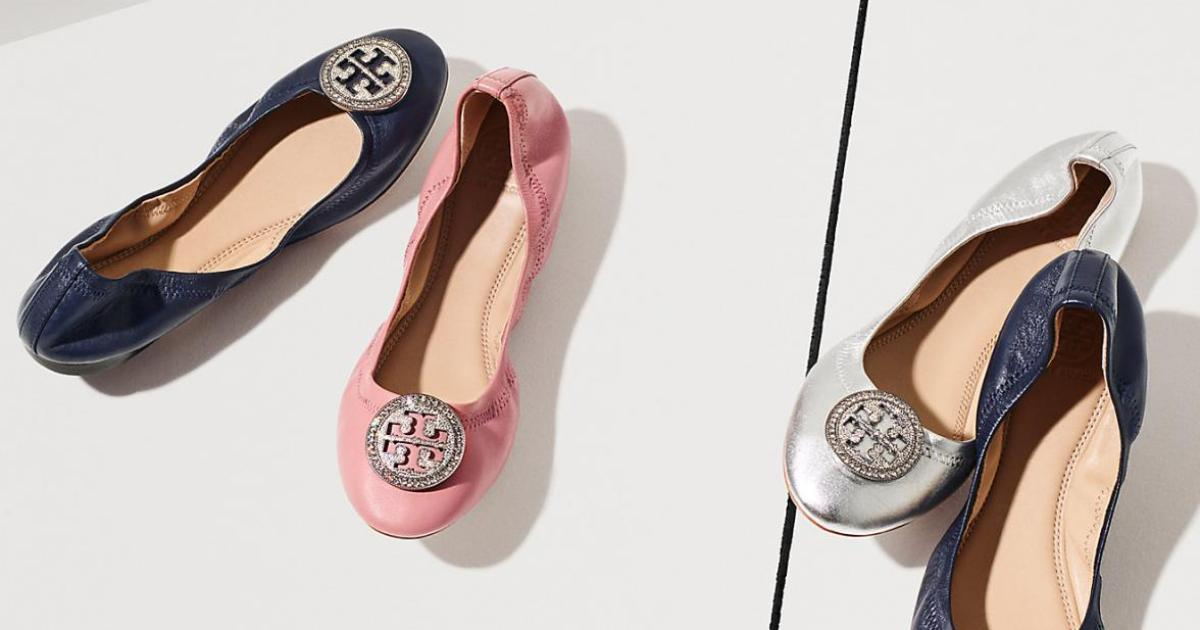 0efba1228 Tory Burch Ballet Flats In Every Color Are on Sale at Nordstrom