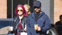 Jack Osbourne was spotted grabbing coffee with a female companion in Studio City.