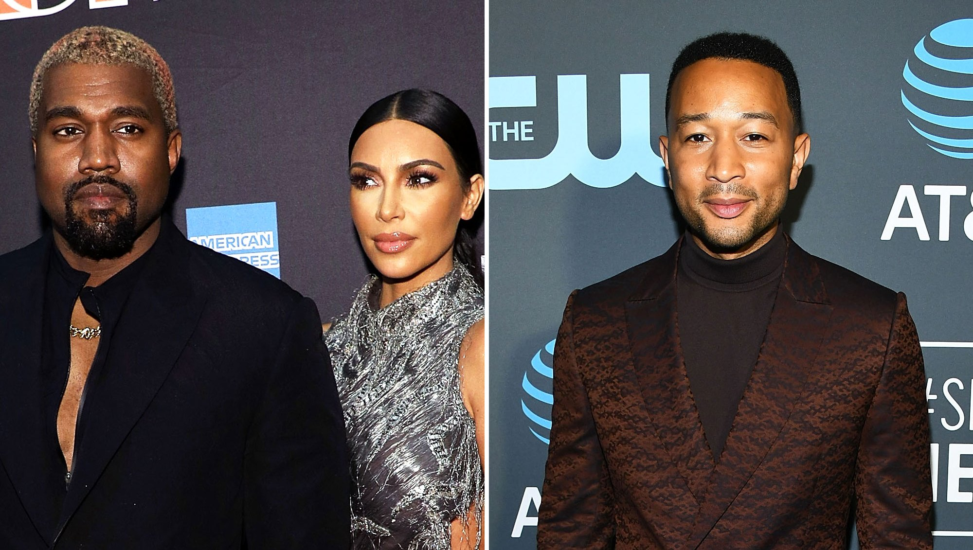Kim Kardashian and Kanye West Pre-Gamed John Legend's 40th Birthday With Doughnuts