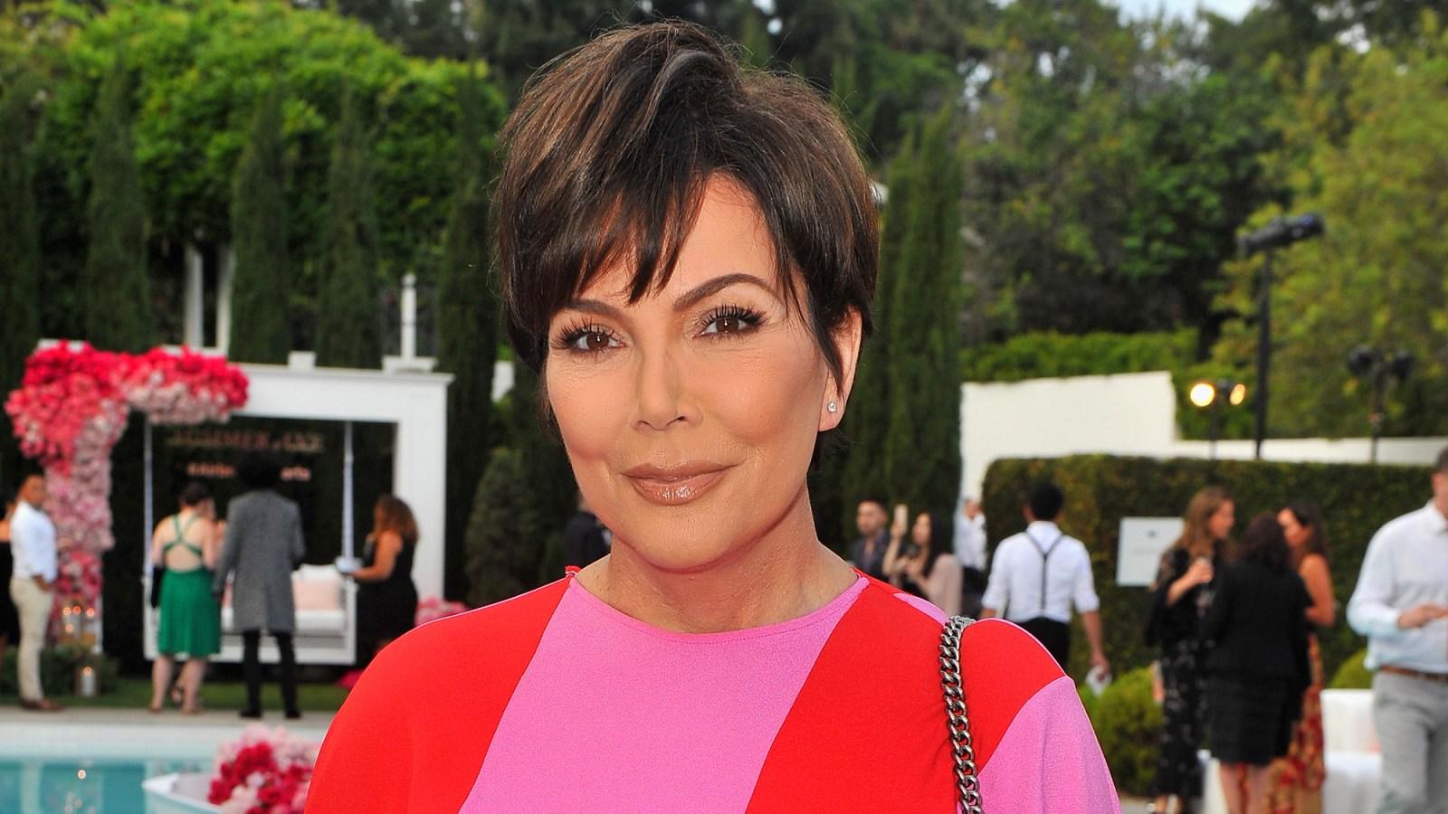Kris Jenner Is a Kim Kardashian Look-Alike In New Bangs