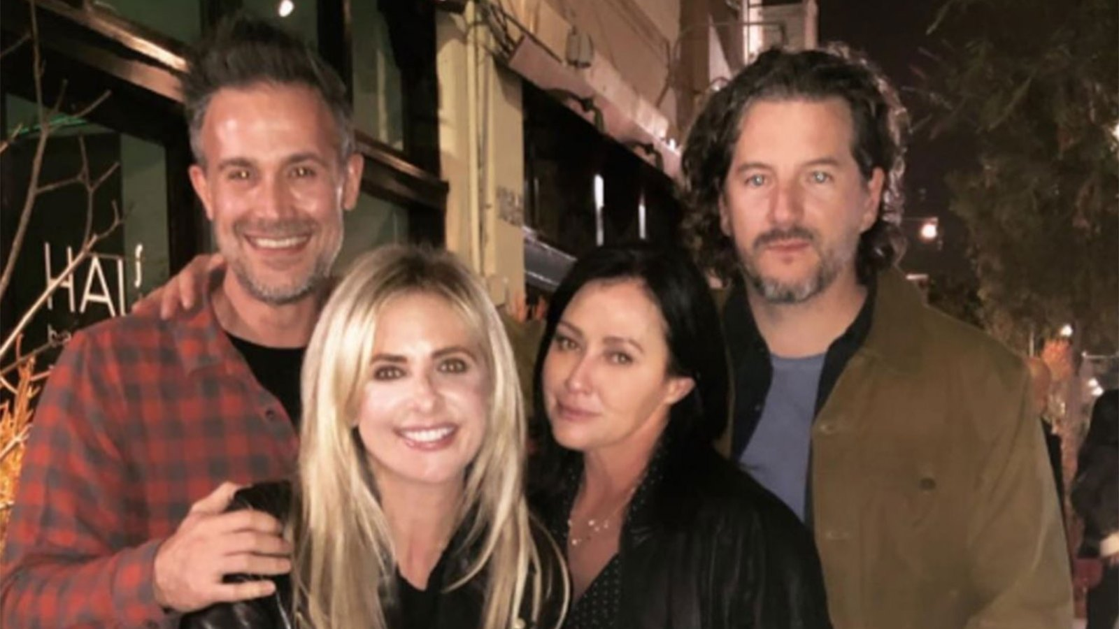 Shannen Doherty Sarah Michelle Gellar Double Date See The Pic