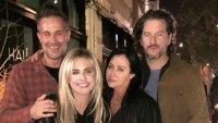 Freddie Prinze Jr., Sarah Michelle Gellar, Shannen Doherty, and Kurt Iswarienko