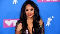 Jionni LaValle and Snooki Polizzi and family third pregnancy