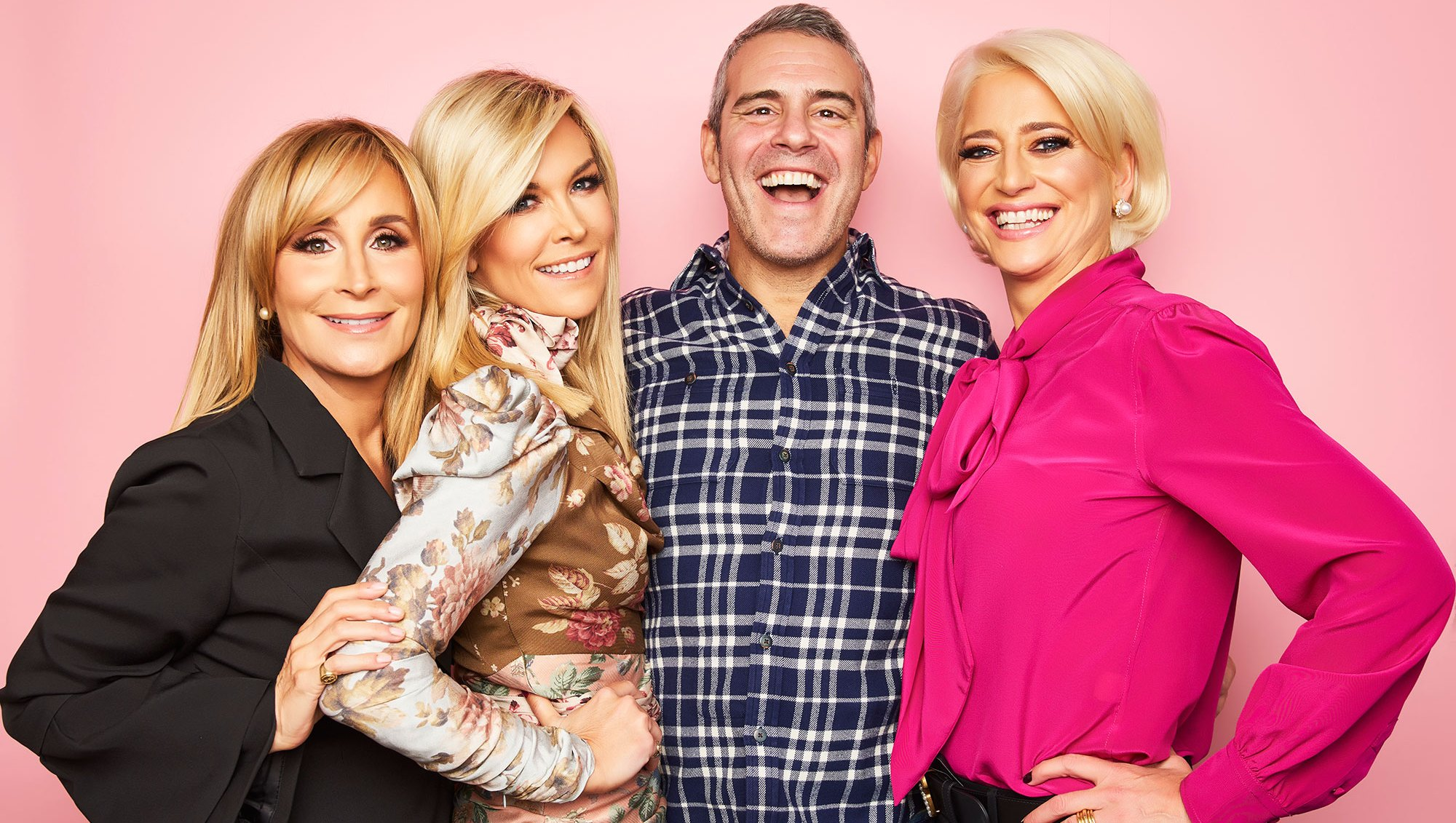 Sonja Morgan, Tinsley Mortimer, Andy Cohen, and Dorinda Medley Andy Cohen Says the Real Housewives Have Been 'Incredible' Since His Son's Birth: 'They're All Great Moms'