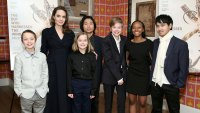 Angelina Jolie Attends NYC Movie Premiere With All 6 of Her Kids