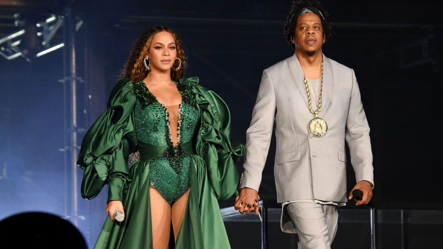 Beyonce and Jay-Z Accept Brit Award With Duchess Meghan-Inspired Video