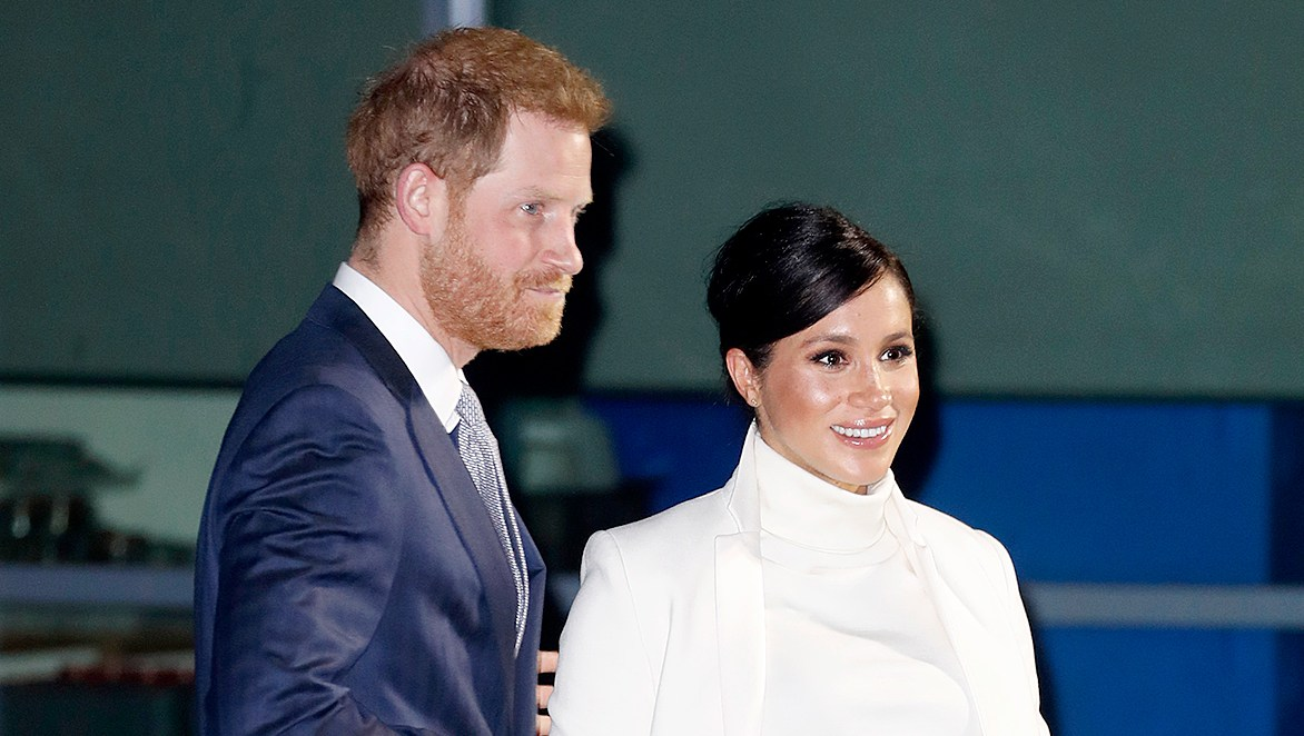Duchess-Meghan-and-Prince-Harry-Arrive-at-London's-Natural-History-Museum