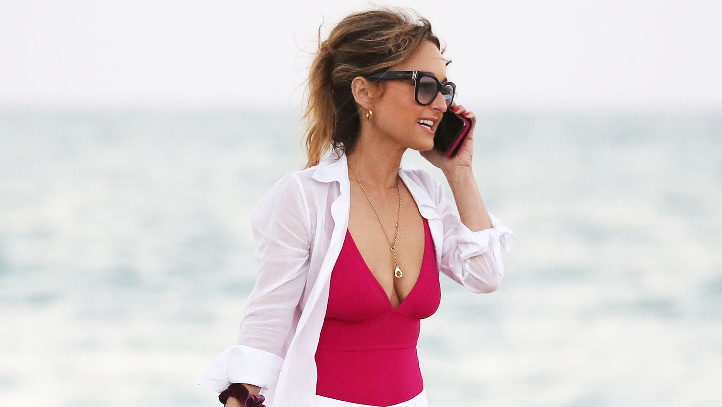 Giada De Laurentiis, 48, Is Latest Star Over 40 to Slay on the Beach
