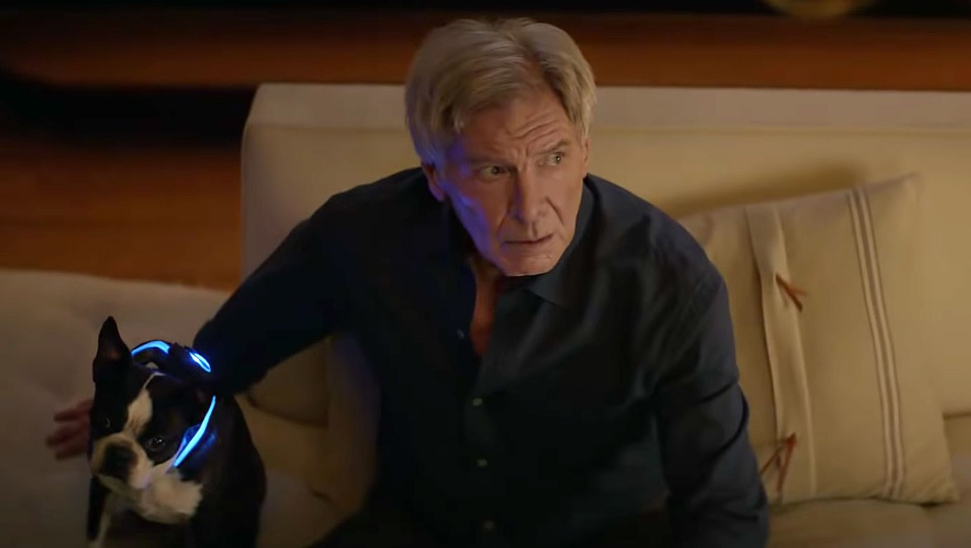 Harrison Ford Stars Alongside an ADorable Dog in Super Bowl 2019 Commercial