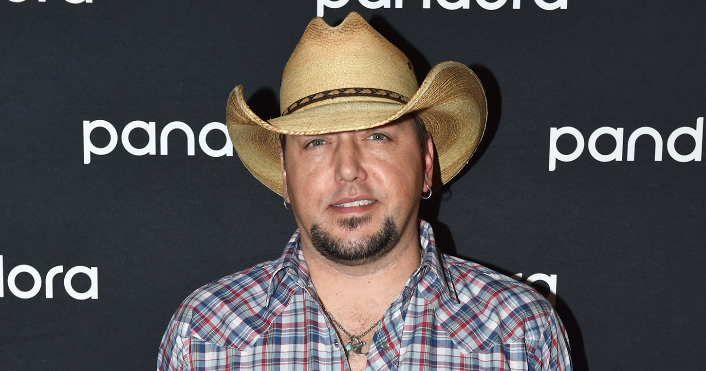 Jason Aldean Introduces Son Memphis to Newborn Sister