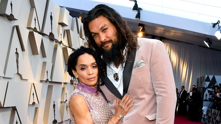 Jason Momoa Oscars 2019 Girl Scout Cookie