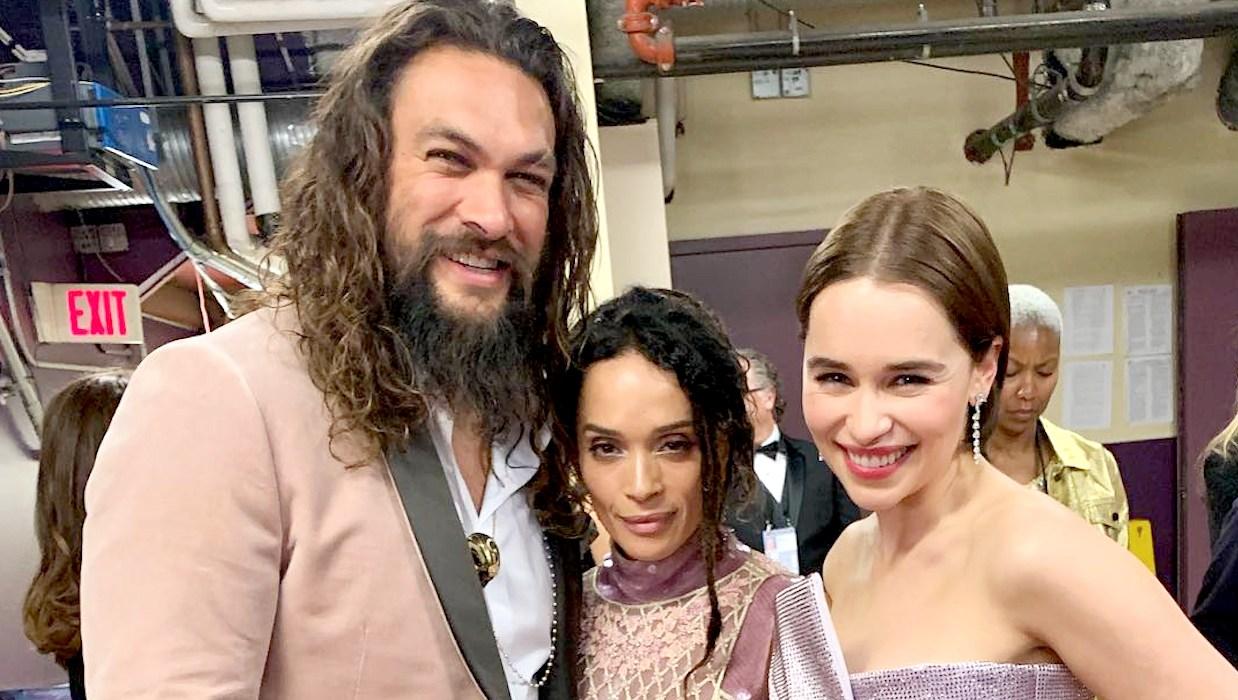 Jason-Momoa-and-Emilia-Clarke-Reunite-at-Oscars-2019