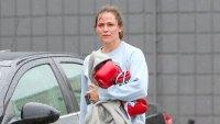 Jennifer Garner Boxes It Out on Valentine's Day