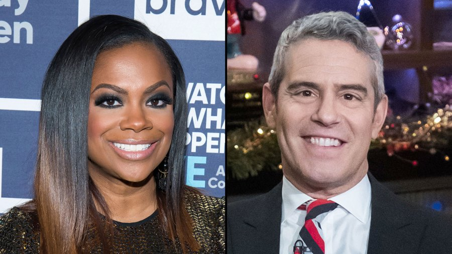 Kandi Burruss Tears Up Talking About Andy Cohen's Surrogacy Advice: He 'Made Me Feel Better'