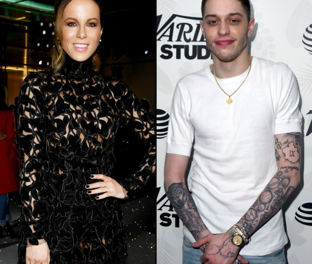 Its No Surprise Kate Beckinsale Is Into Pete Davidson He Makes Her Laugh And She Likes That Hes Younger