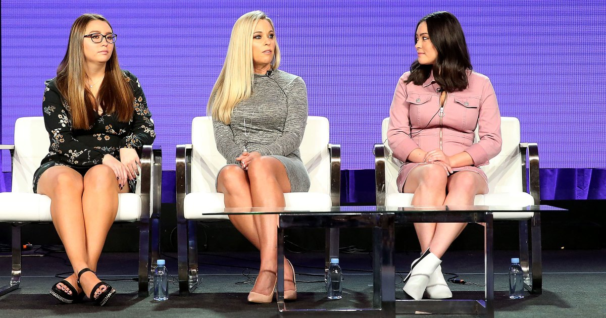 Kate Gosselin Makes Rare Appearance With Twin Daughters, Talks Dating Show: Pics!