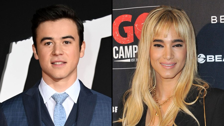 Keean Johnson and Sofia Boutella Are Dating