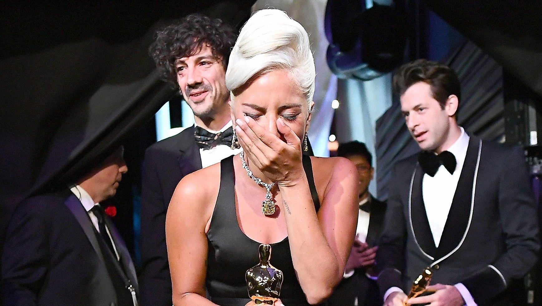 Oscars 2019 Backstage Lady Gaga