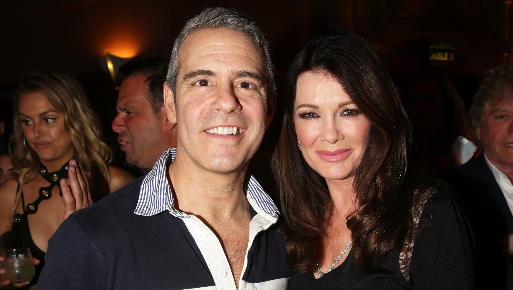Lisa Vanderpump Andy Cohen Exhausted After Welcoming Son