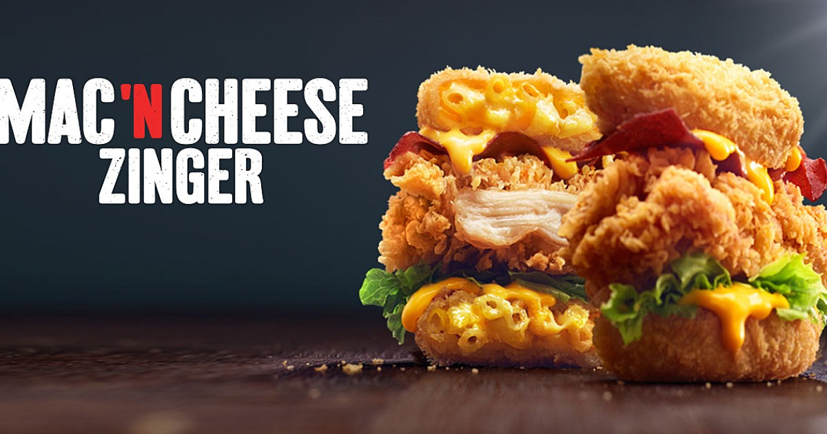 Image result for mac and cheese zinger