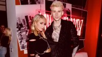 Paris Hilton and Machine Gun Kelly