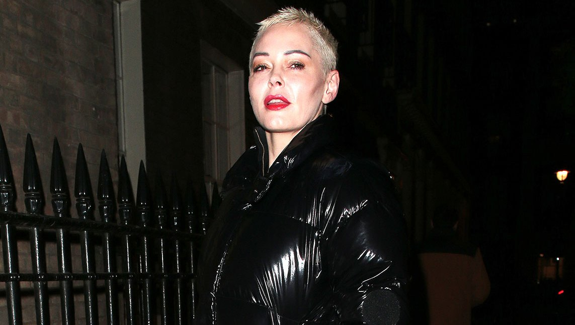Rose McGowan's Puffer and More Coats That Make Us Happy It's Still Winter