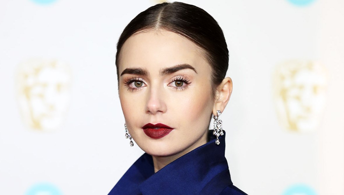Lily Collins Sexy Hair and Makeup Looks to Try This Valentine¹s Day