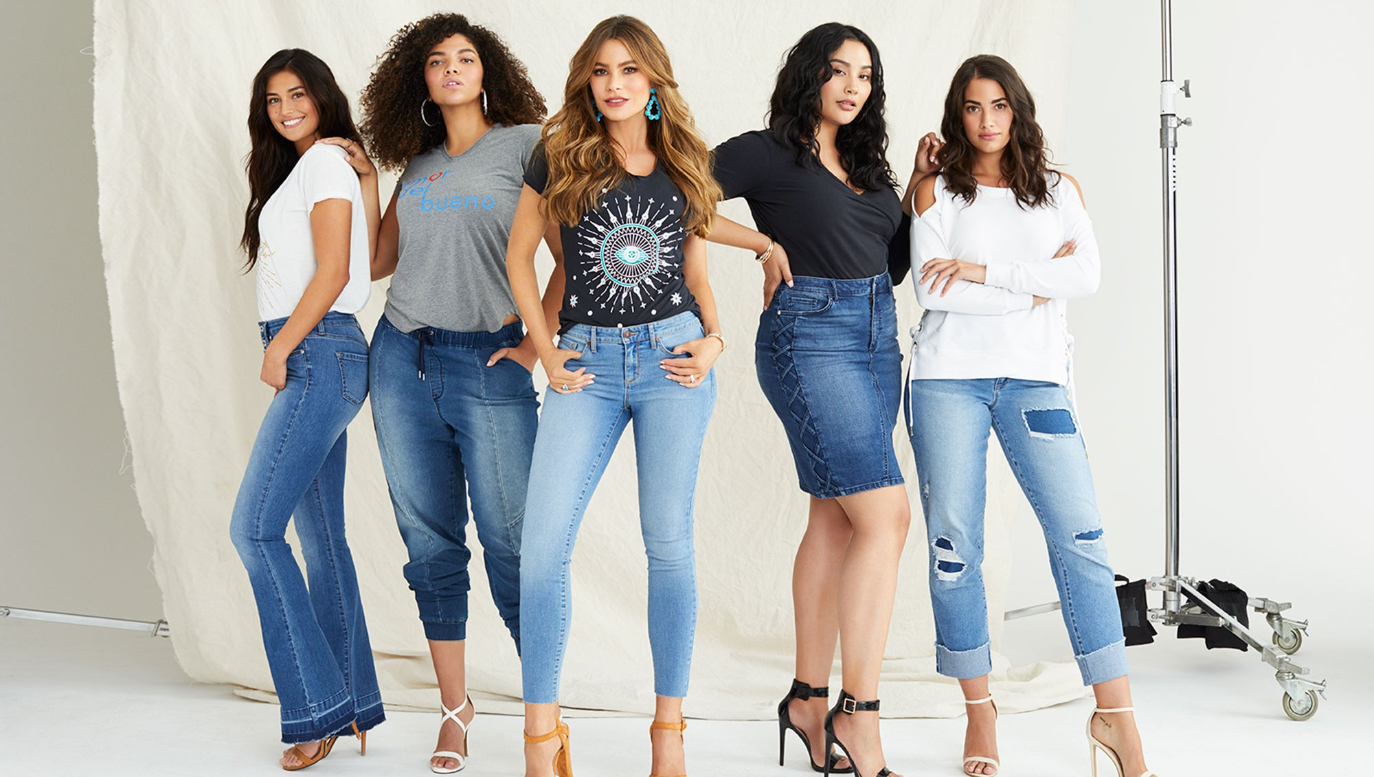 Sofia Vergara Just Launched a Denim Line and It's Affordable and Size Inclusive