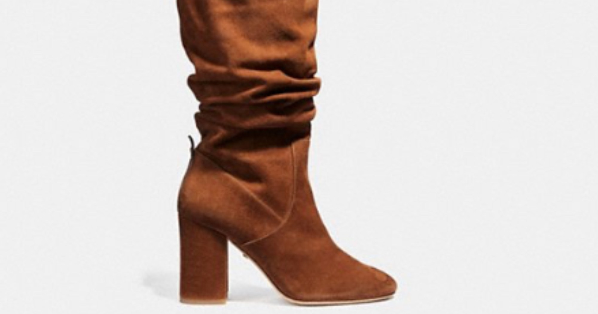These Stylish Boots are Now 50% Off in the Coach Sale