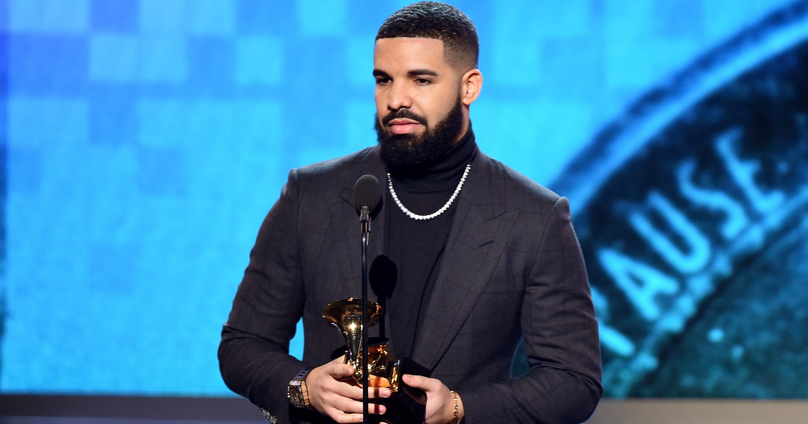 Drake Gets Cut Off After Shading Grammys in Acceptance Speech