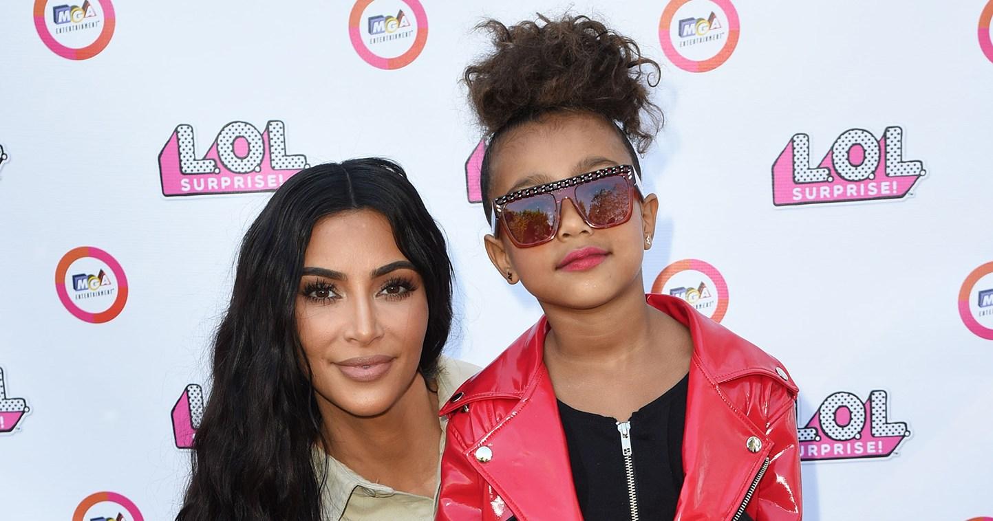 Kim Kardashian's Daughter North West Has Valentine's Day Admirer