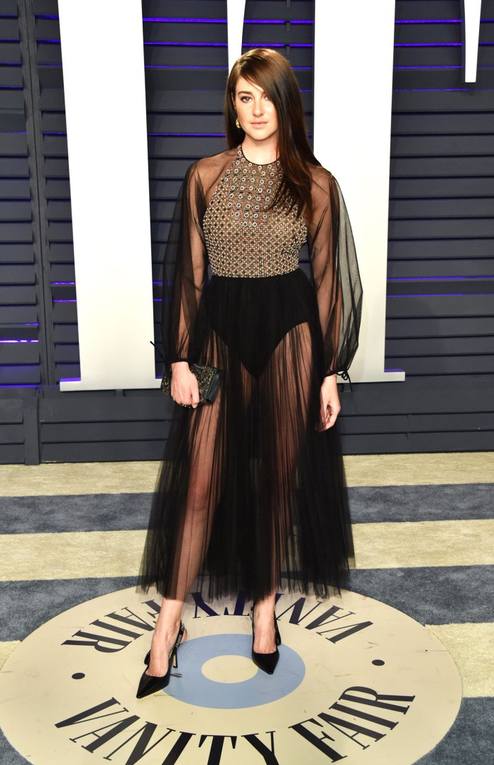 Shailene Woodley Stars Bring the Sizzling Nearly Naked Dress Trend to the Oscars