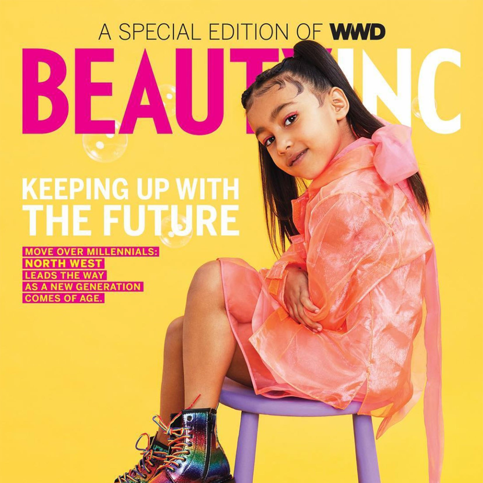 North West Just Landed Her First Magazine Cover