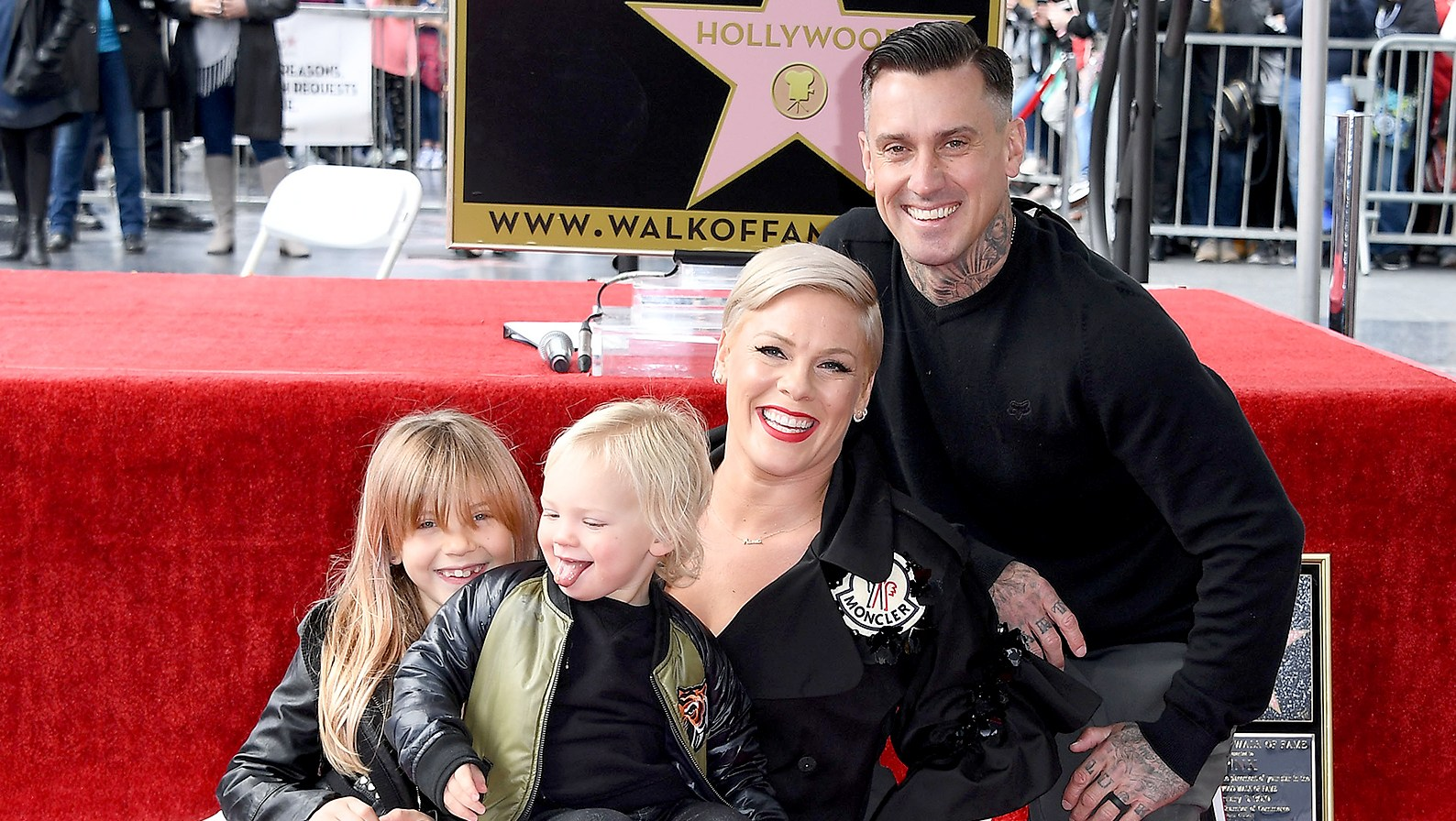 pink-and-family-hollywood-star