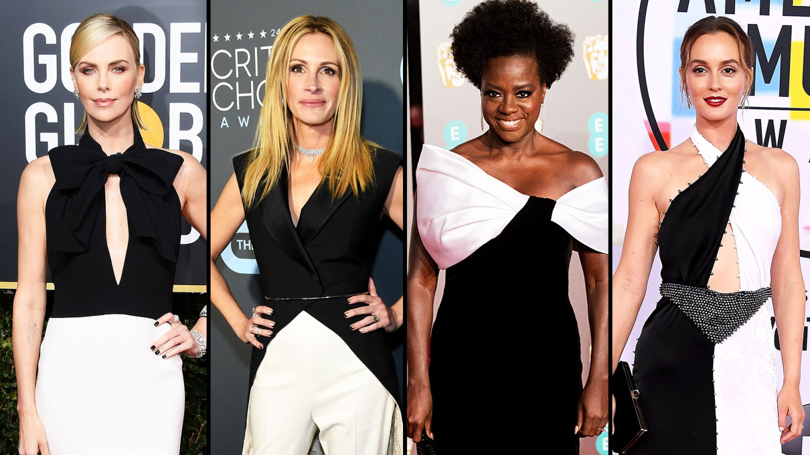 7bce1f95b7fbc Hollywood's Favorite Color Combo Is a Timeless Trend: See 10 Top Black and  White Red Carpet Looks