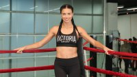Adriana Lima Admits She Feels More Confident When She Wears Makeup to the Gym