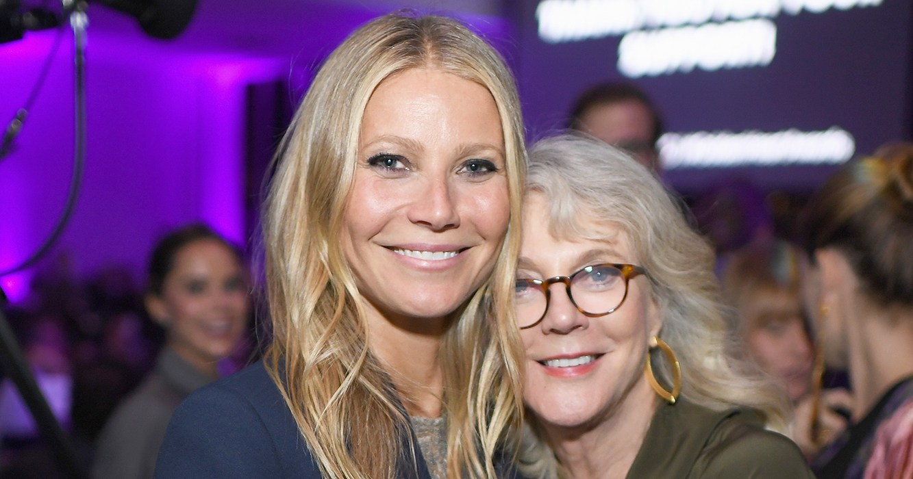 Blythe Danner on Parenting Daughter Gwyneth Paltrow