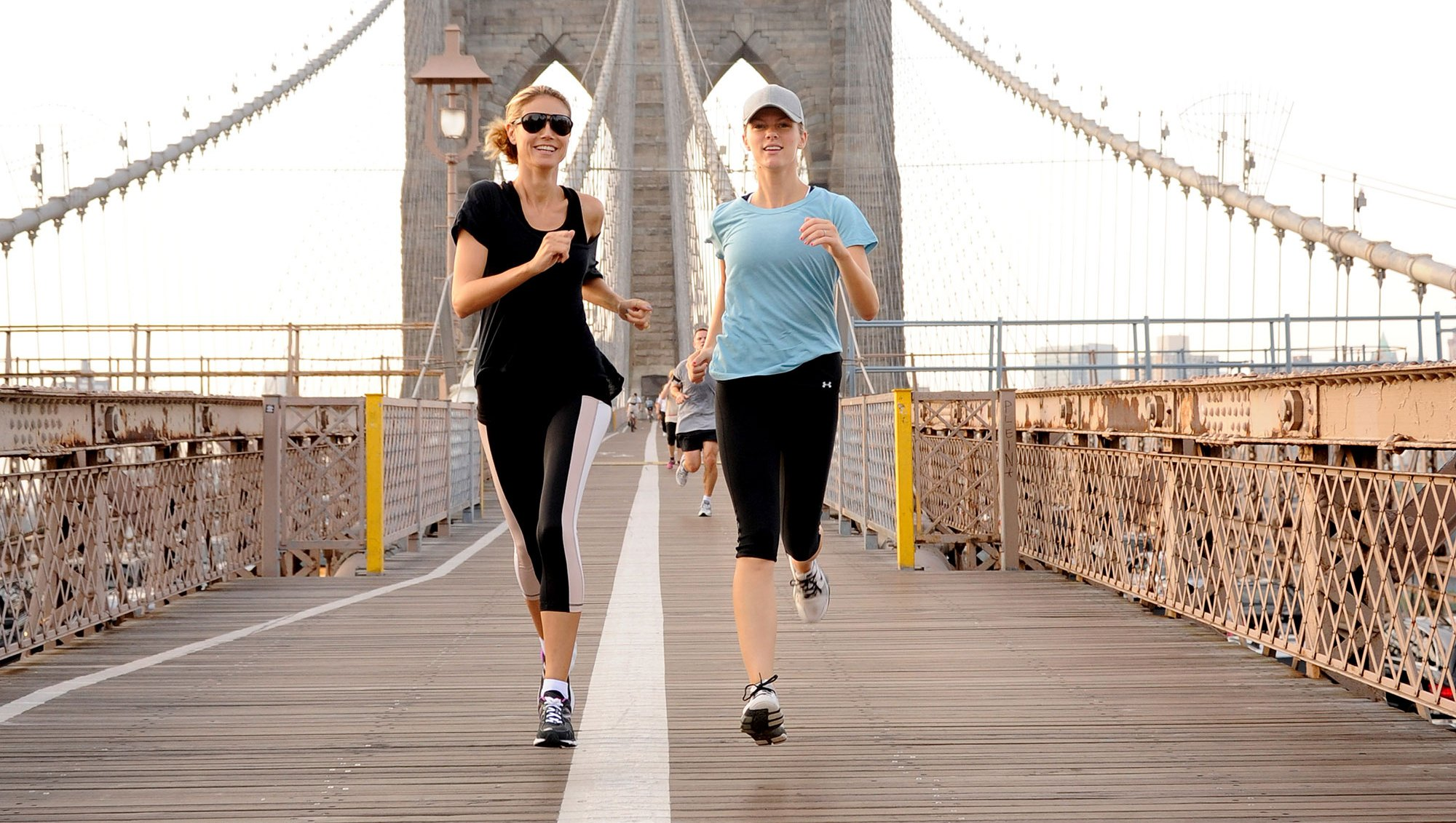 Brooklyn Decker Heidi Klum Celebrity Joggers