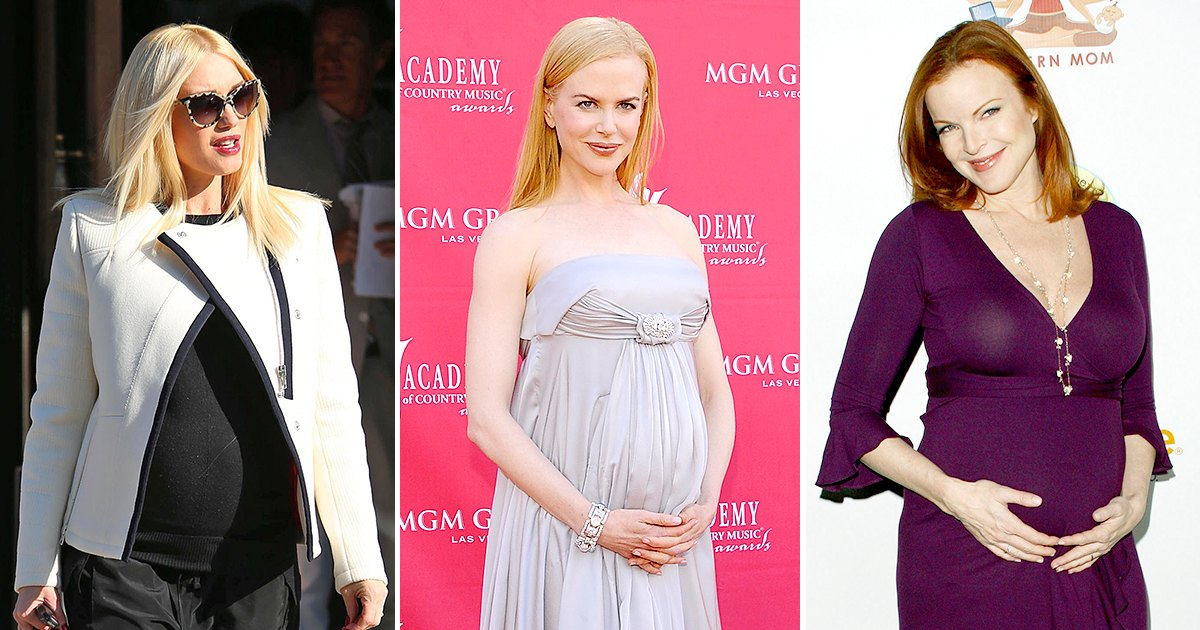 I'm Over 40 — and Pregnant! See Which Stars Welcomed Babies Later in Life